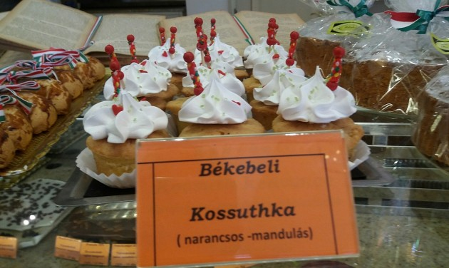 A múlt édes értékei – sütemények Kossuth tiszteletére