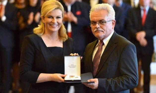 Marin Skenderovic rangos kitüntetést kapott