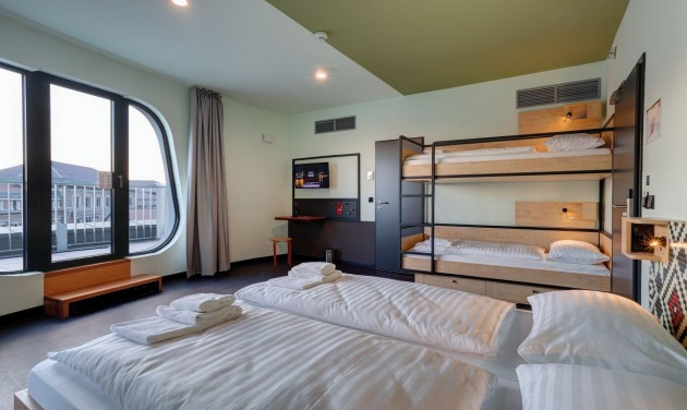 Budapesten is hódítanak a hotel-hostel hibridek