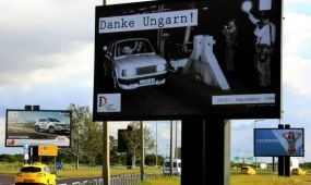 Danke Ungarn! – a repülőtéren is
