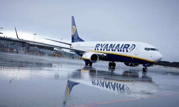 Ötödével esett a Ryanair nyeresége