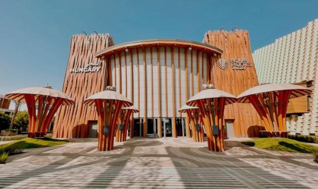 Csaknem tízezer látogatója volt eddig a magyar pavilonnak Dubajban