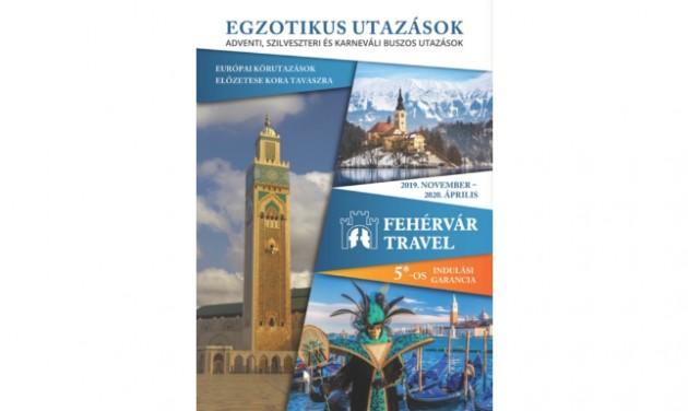 Megjelent a Fehérvár Travel 2019/20-as téli katalógusa