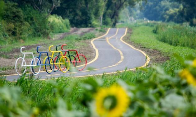Elkészült a kerékpárút Oroszlány és Tatabánya között