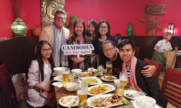 Kambodzsa egyre népszerűbb