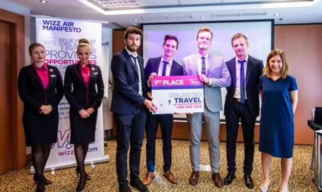 A legjobb zöld megoldásokért egy évig ingyen reptet a Wizz Air