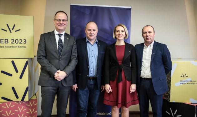 Új vezérigazgató a Veszprém-Balaton EKF program élén