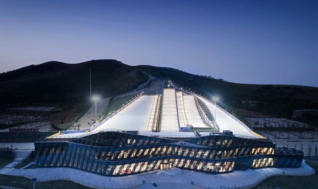 Kína már a 2022-es téli olimpiára készül