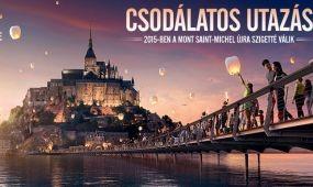 Mont-Saint-Michel újra szigetté válik