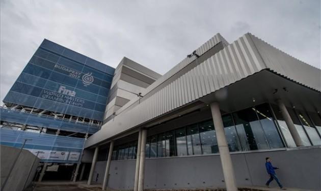 A Duna Arénát tekintik új példának a tokiói olimpia szervezői
