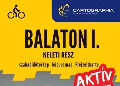 Kerékpáros térkép a Balatonról