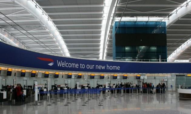 Új beléptetési rendszer a British Airwaysnél