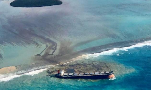 Környezetvédelmi vészhelyzet Mauritiuson