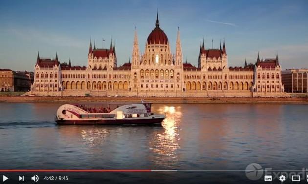 A HÉT VIDEÓJA: Budapest-film az Expediától