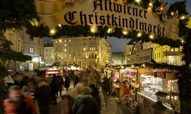 Bécsben megerősítik a karácsonyi vásárok védelmét