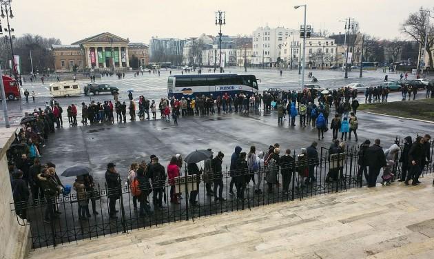 Ötvenezer látogató a Szépművészeti Múzeum Román Csarnokában