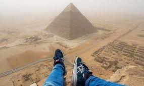 Örökre kitiltották Egyiptomból a piramismászó német tizenévest