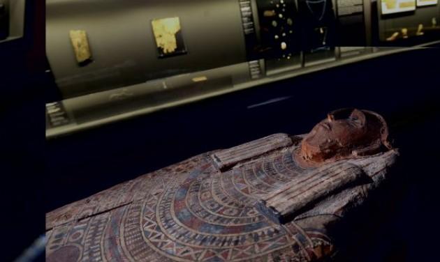 Új szerzeményekkel nyílt meg az egyiptomi kiállítás