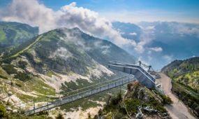 Új körpanorámás kilátó Ausztriában