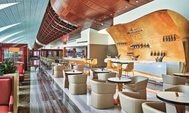 Bővített Emirates prémium lounge-ok