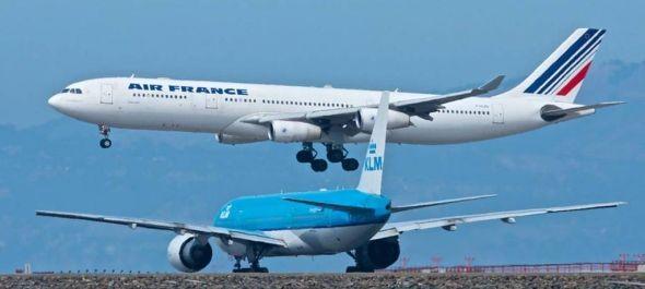 Hetvenmillió euróval csökkent az Air France-KLM bevétele decemberben