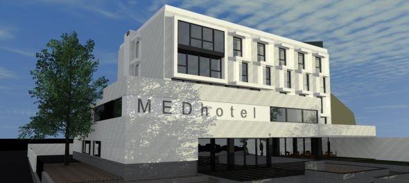 Épül az EGOM Medhotel Esztergomban