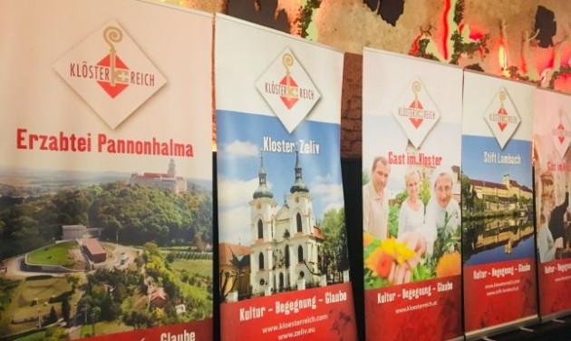 Pannonhalma a Klösterreich egyesület hálózatában