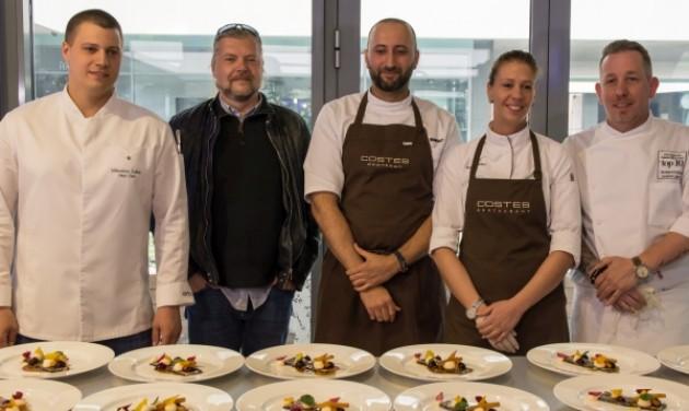 Külföldi sztárok és a hazai élvonal a Gourmet Fesztiválon