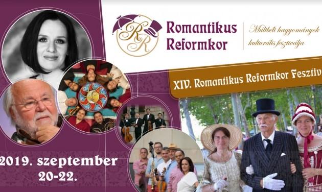 Életre kel ismét a Romantikus Reformkor Füreden