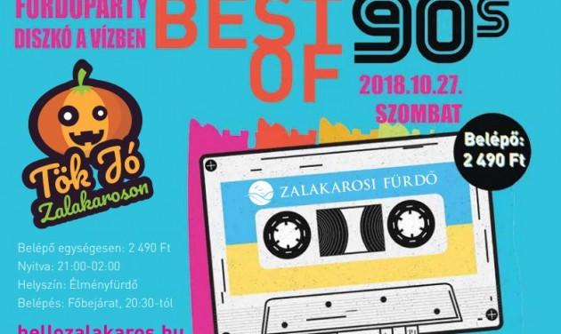 BEST OF 90's fürdőparty a Zalakarosi Fürdőben