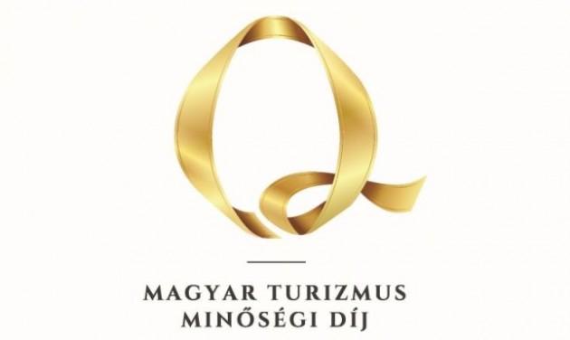 A hónap végéig lehet jelentkezni a Magyar Turizmus Minőségi Díjra
