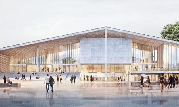 Elkezdődött az új berlini modern művészeti múzeum építése