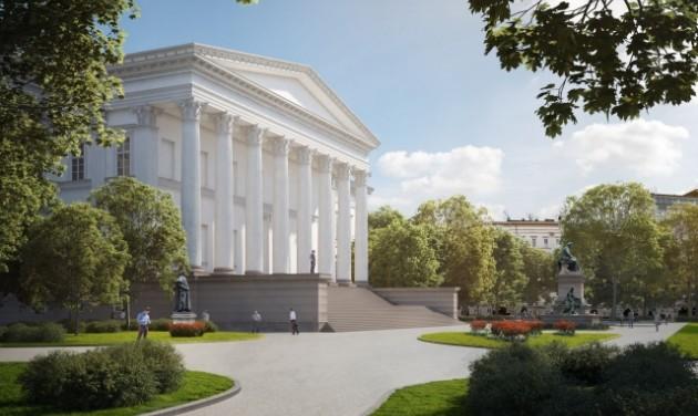 Kezdődik a Nemzeti Múzeum kertjének rekonstrukciója