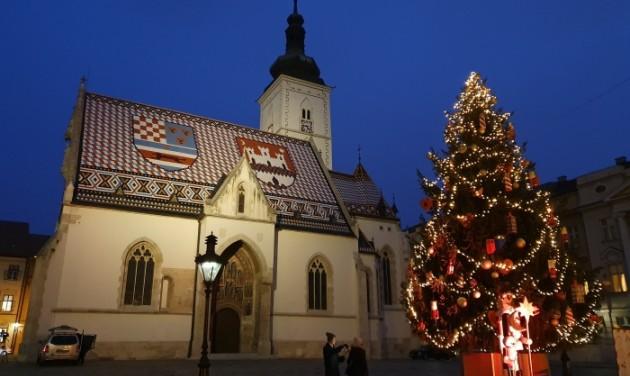 Korcsolyázós advent horvát módra