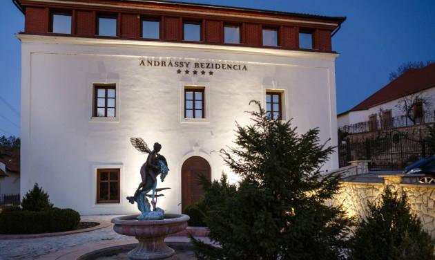 A BDPST Group megvásárolta a tarcali Andrássy Rezidenciát