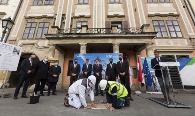 3,2 milliárd forintból indul a soproni múzeumnegyed fejlesztése