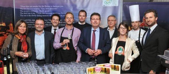 Az ARAZ Étterem az EAT Brüsszel fesztiválon