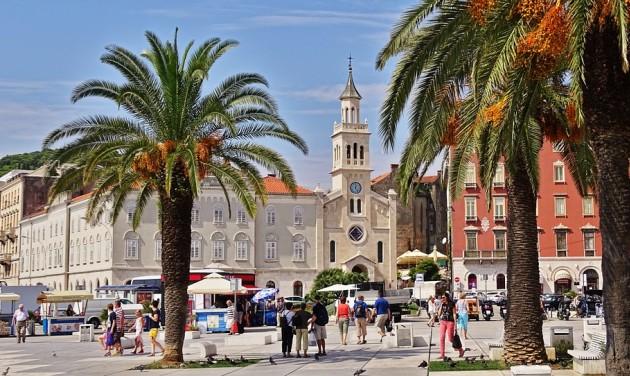 Nőtt a magyar turisták száma Horvátországban