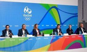 Riói sajtótájékoztató a budapesti olimpiáért
