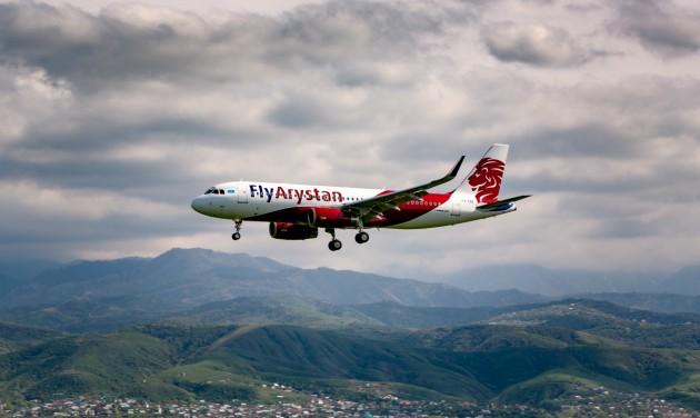 Elstartolt a FlyArystan