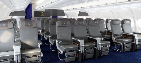 Ősszel debütál a Lufthansa premium economy osztálya