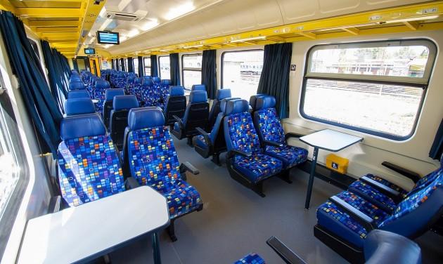 Egyre több vonaton utazhatunk komfortos körülmények között