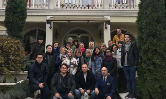 Kazah csoport érkezett Magyarországra