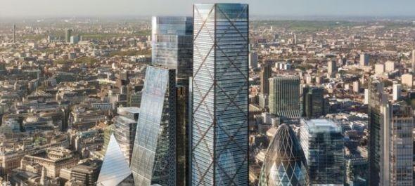 Bemutatták a londoni City legmagasabbjaként beharangozott felhőkarcoló terveit