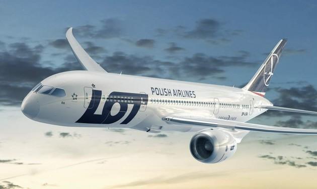 Az új pekingi reptérre is repül a LOT Varsóból