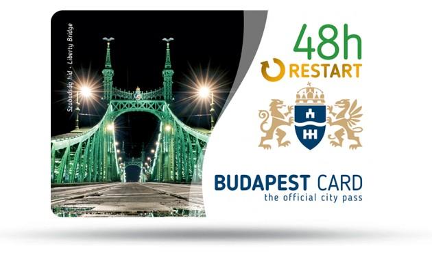 Elindult a Restart Budapest Card őszi kampánya