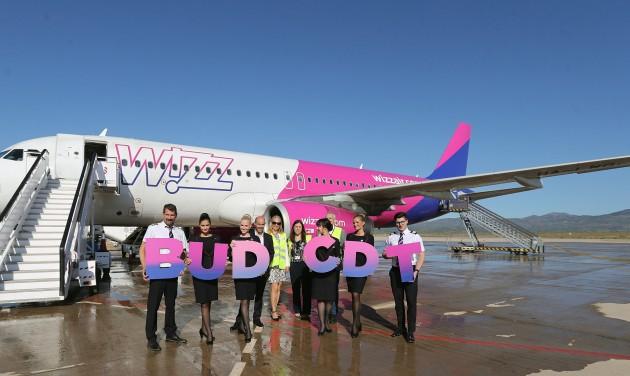 Elindult a Wizz Air új spanyol járata