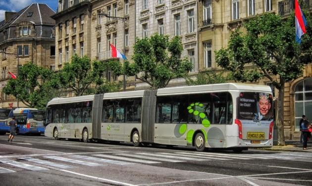 Luxemburgban ingyenes lesz a tömegközlekedés