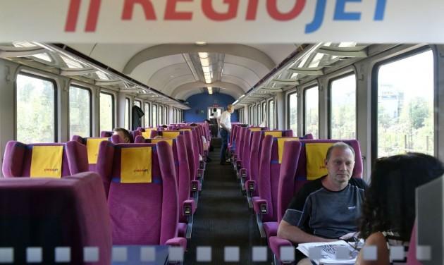 Megérkezett a RegioJet magánvasút első Prága–Budapest járata