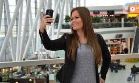 Nyereményért bíztatja szelfizésre utasait a Budapest Airport